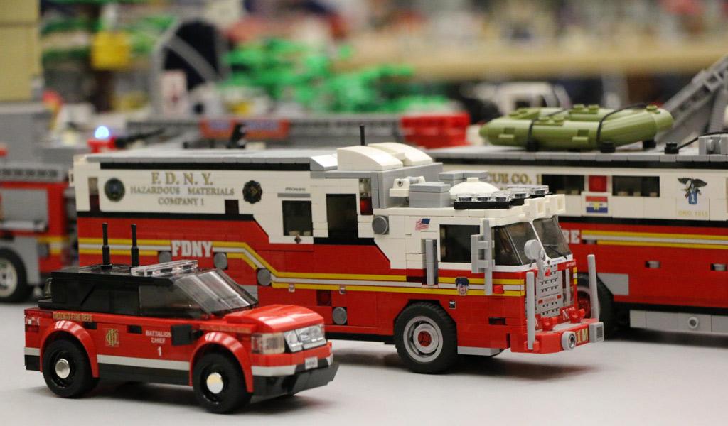 NYC Feuerweherfahrzeuge | © Andres Lehmann / zusammengebaut.com