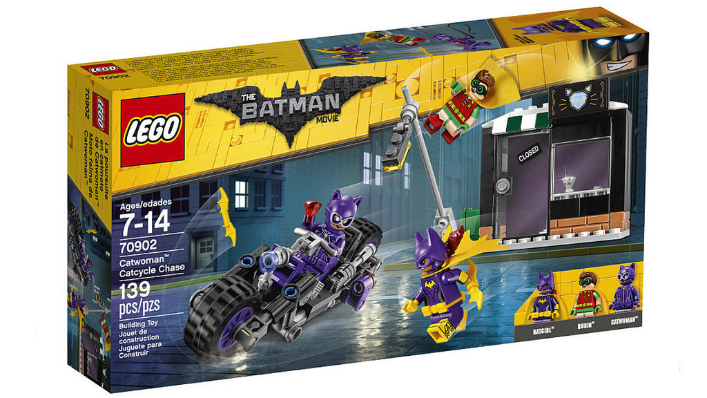 The LEGO Batman Movie Catwoman Catcycle Chase 70902 | © LEGO Group