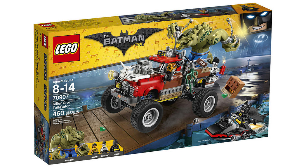 The LEGO Batman Movie Killer Croc Tail-Gator 70907 | © LEGO Group