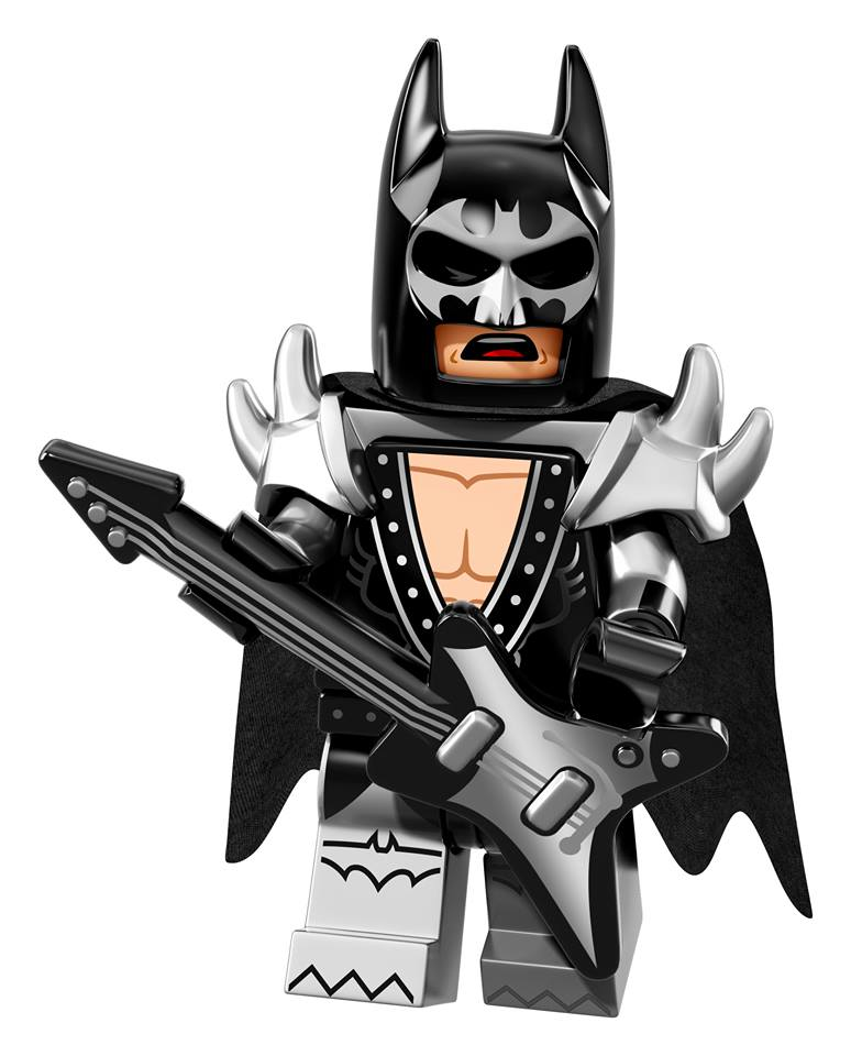 Glam Metal Batman | © LEGO Group