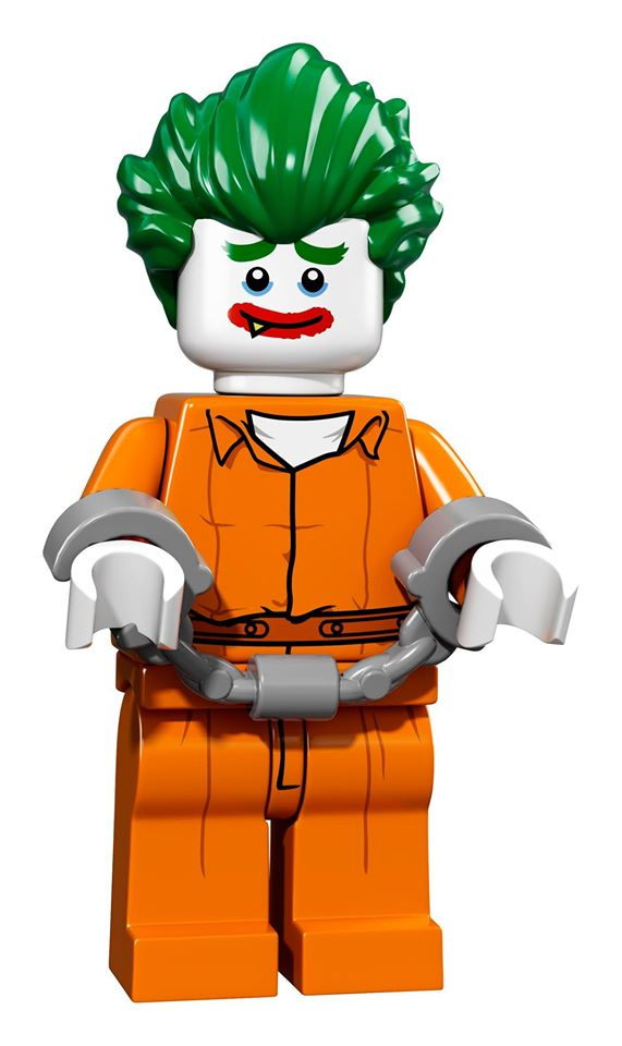 Joker Arkham Asylum   © LEGO Group