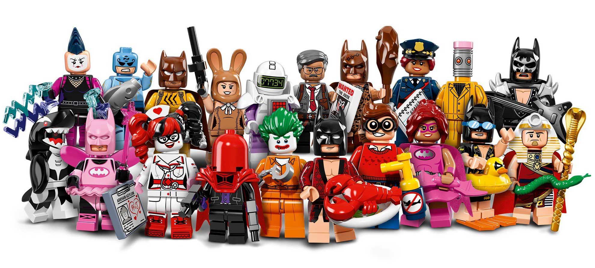 The LEGO Batman Movie: Minifiguren Serie 71017 offiziell vorgestellt | zusammengebaut