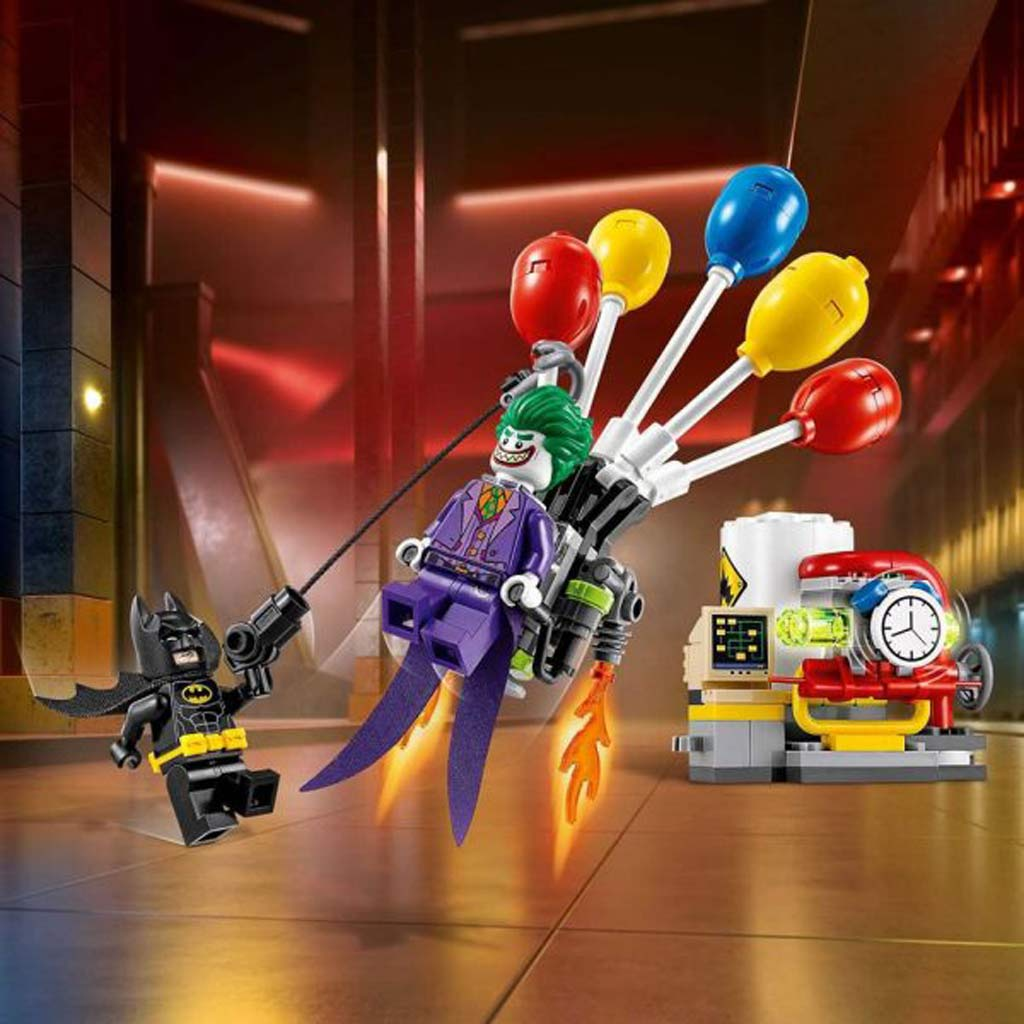 'The Joker Balloon Escape' (70900): Wer treibt es hier bunt? | © LEGO Group
