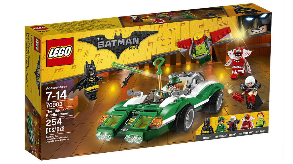The LEGO Batman Movie The Riddler Riddle Racer 70903 | © LEGO Group