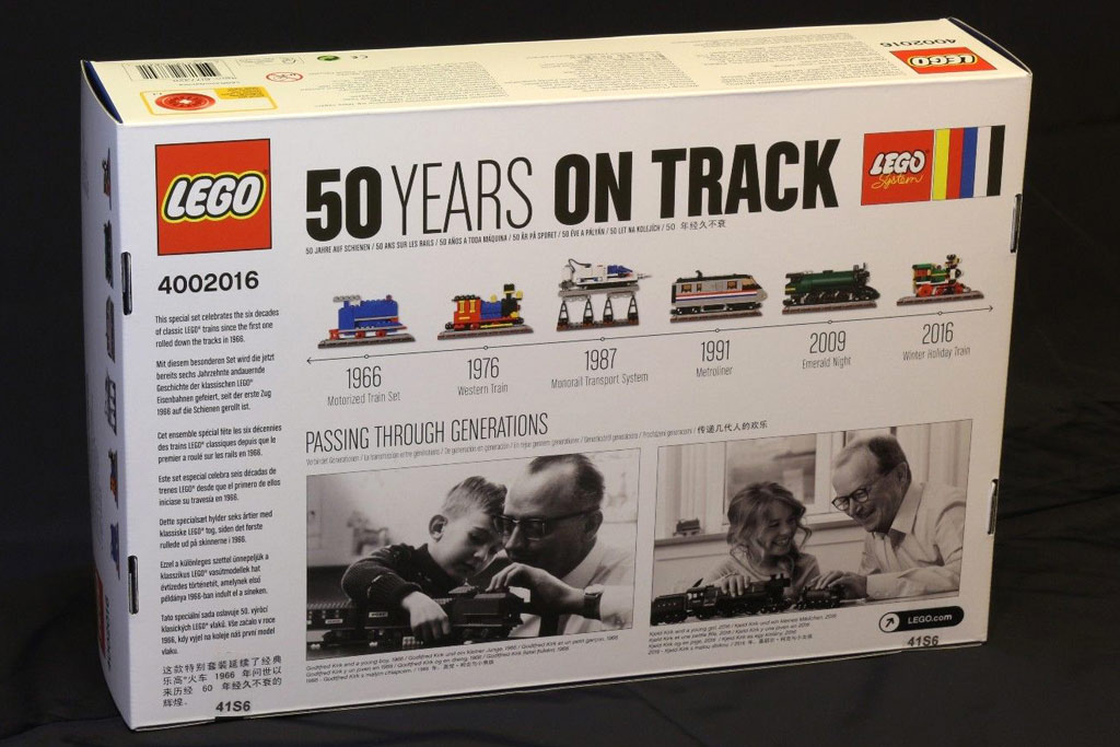 LEGO 50 Years On Track 4002016 | © motyi96-hu / eBay