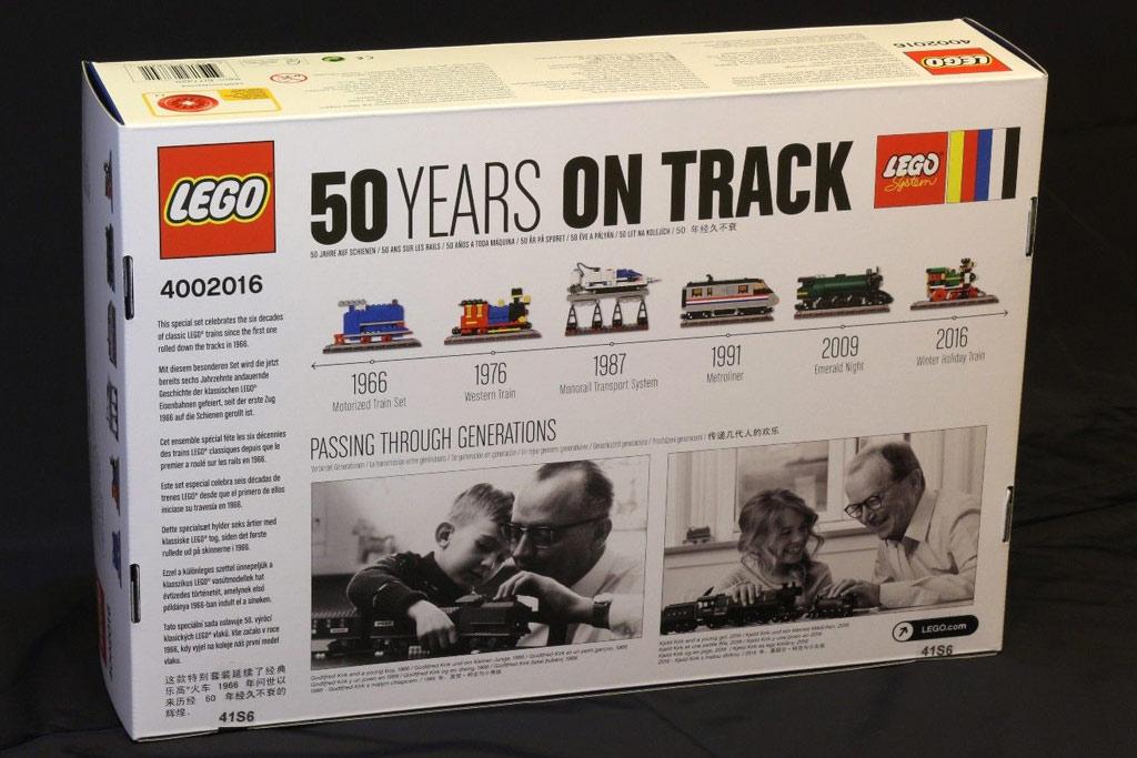 LEGO 50 Years On Track 4002016 | © motyi96-hu / eBay