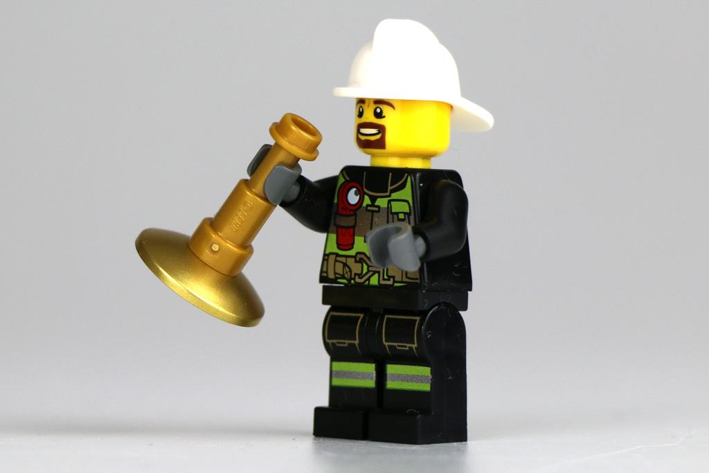 Musikalischer Feuerwehrmann | © Andres Lehmann / zusammengebaut.com