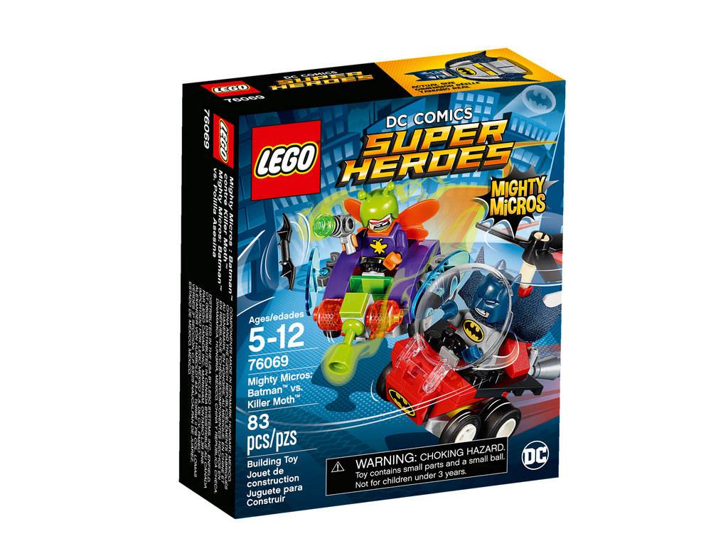 Mighty Micros Batman vs Killer Moth 76069 | © LEGO Group