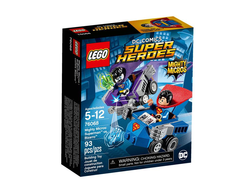 Mighty Micros Superman vs. Bizarro 76068 | © LEGO Group
