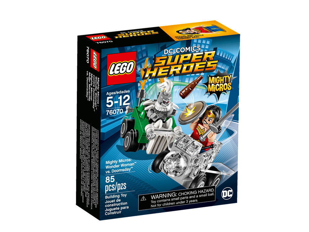 Mighty Micros Wonder Woman vs. Doomsday 76070 | © LEGO Group