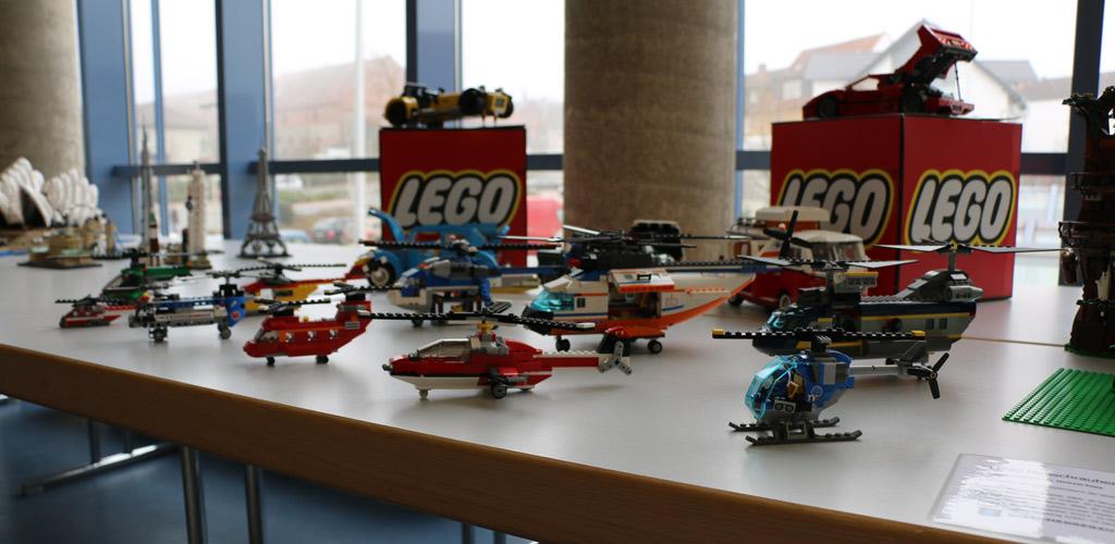 LEGO Helikopter | © Michael Kopp / zusammengebaut.com