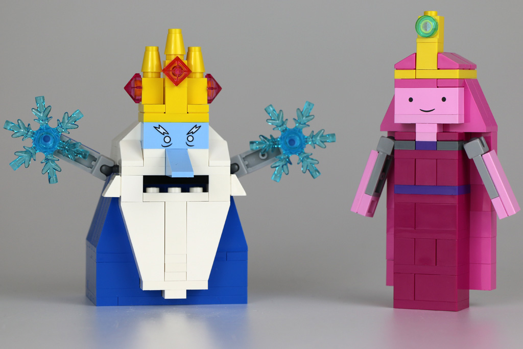 Ice King und Princess Bubblegum | © Andres Lehmann / zusammengebaut.com