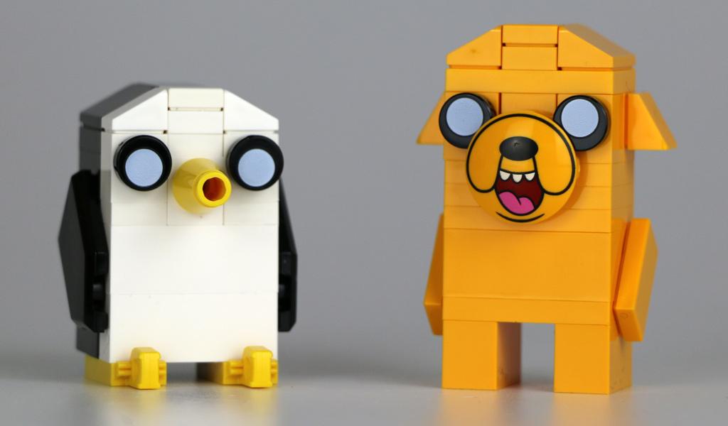 Gunter und Jake: Knuffig! | © Andres Lehmann / zusammengebaut.com