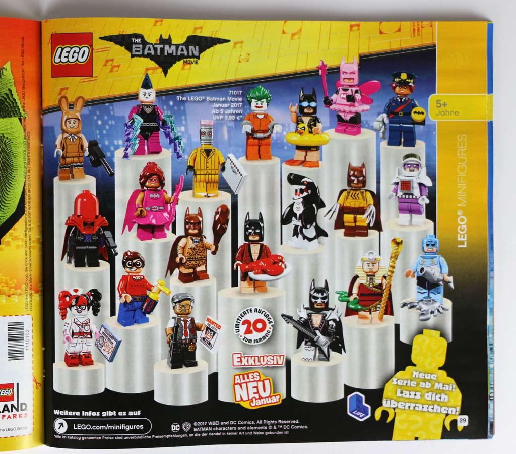 The LEGO Batman Movie: Minifiguren Serie 71017 und Ausblick auf Mai! | © Andres Lehmann / zusammengebaut.com