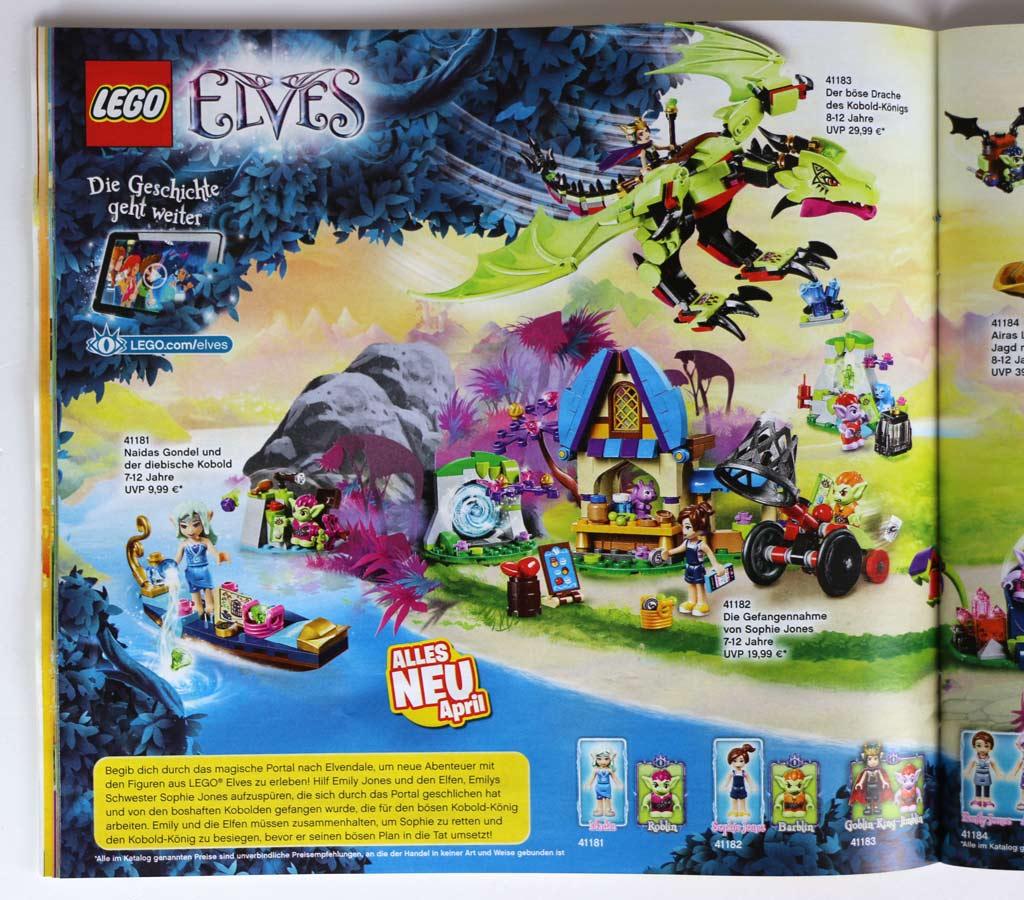 Lego Katalog Januar Bis Juni 2017 Durchgeblättert Zusammengebaut