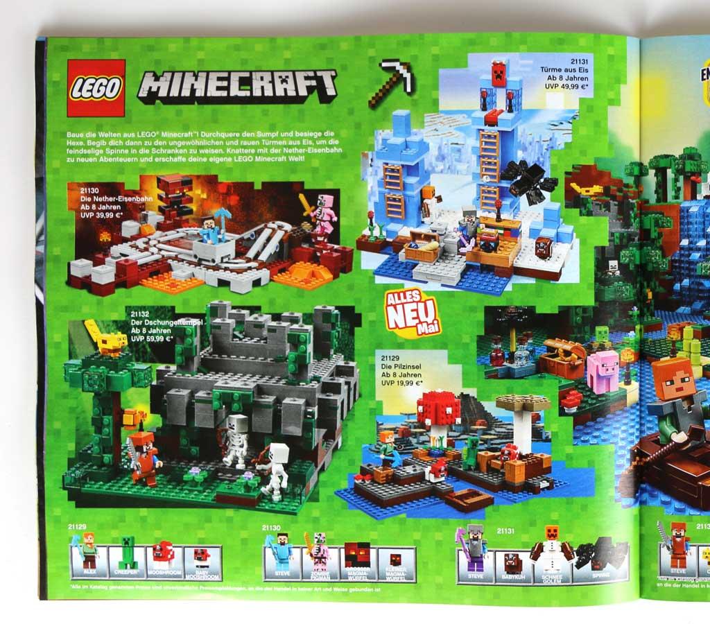 lego minecraft 2017 sechs neue sets ab mai erh ltlich. Black Bedroom Furniture Sets. Home Design Ideas