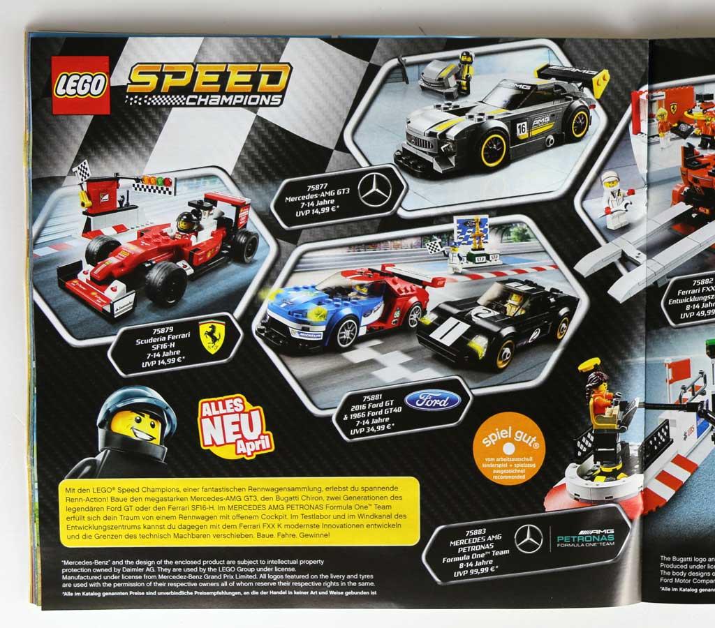 Speed Champions: Neue Sets ab April erhältlich | © Andres Lehmann / zusammengebaut.com