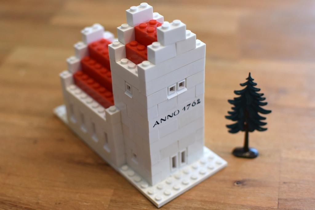 Eine LEGO Kirche | © Claus-Marc Hahn