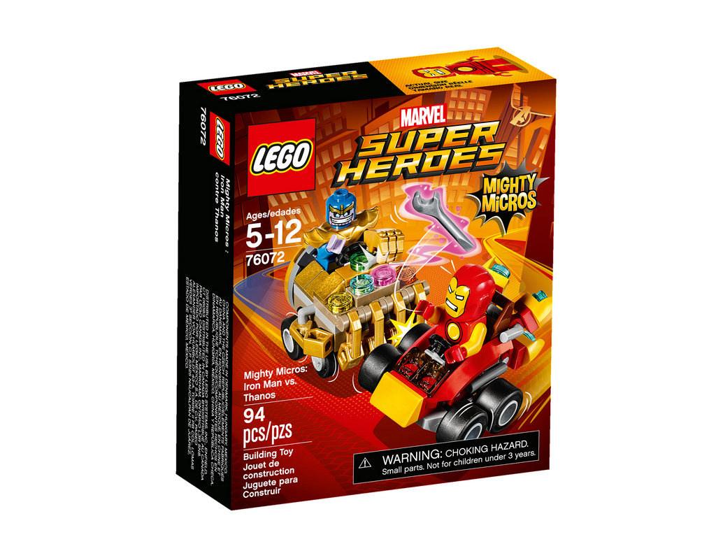 Mighty Micros Iron Man vs Thanos 76072 | © LEGO Group