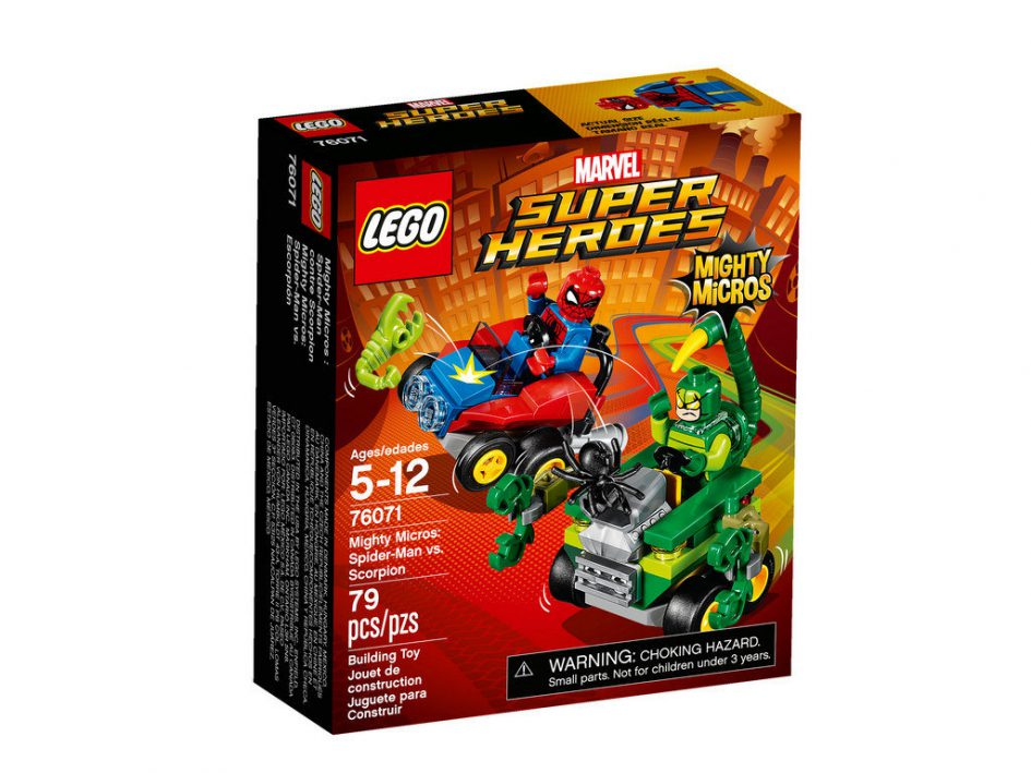 Mighty Micros Spider-Man vs. Scorpion 76071 | © LEGO Group