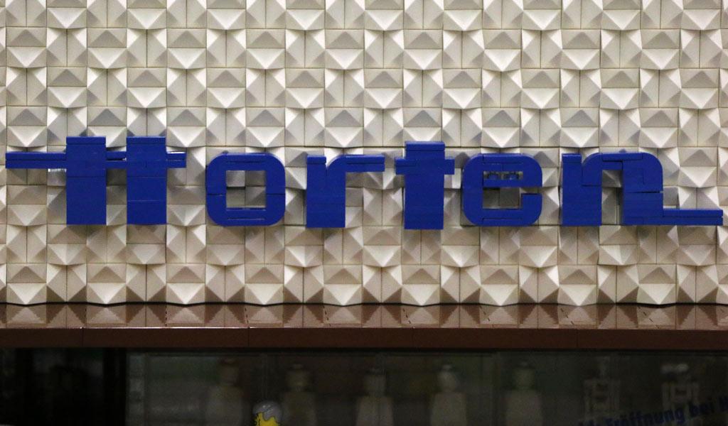 Steiniger Horten-Schriftzug   © Andres Lehmann / zusammengebaut.com