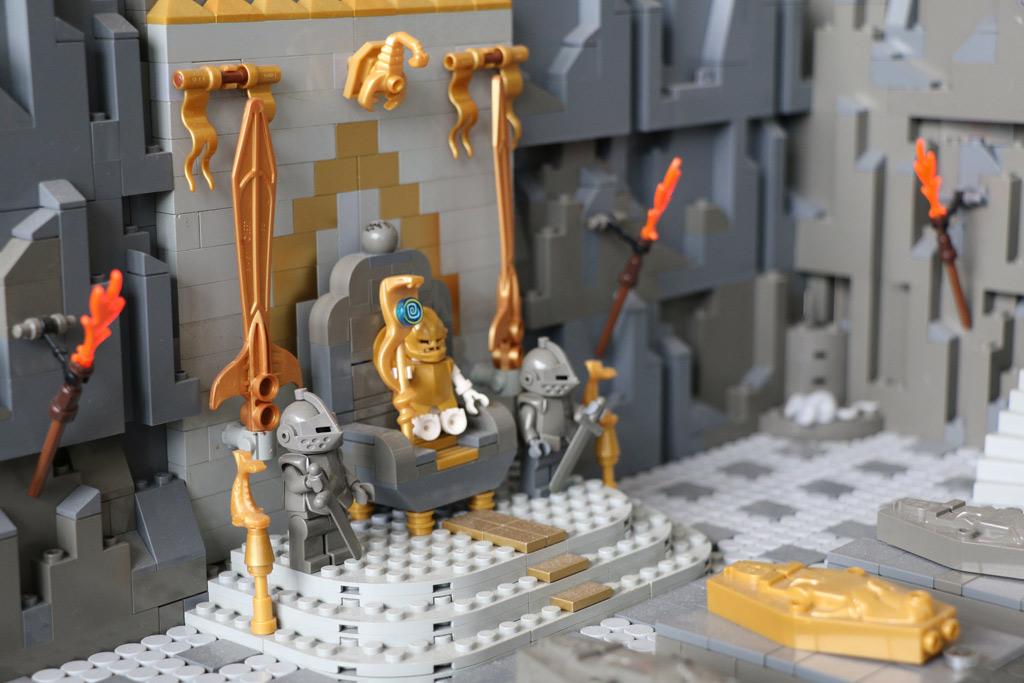 Ja, wer sitzt denn da auf dem Thron? | © Andres Lehmann / zusammengebaut.com