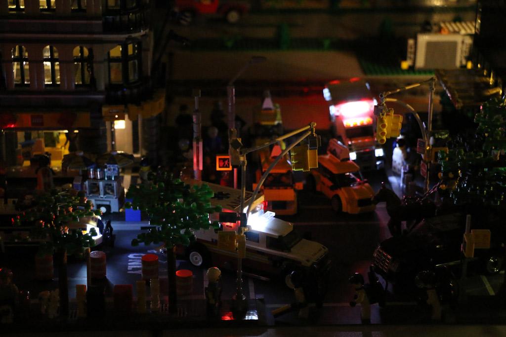 Manhattan bei Nacht | © Andres Lehmann / zusammengebaut.com
