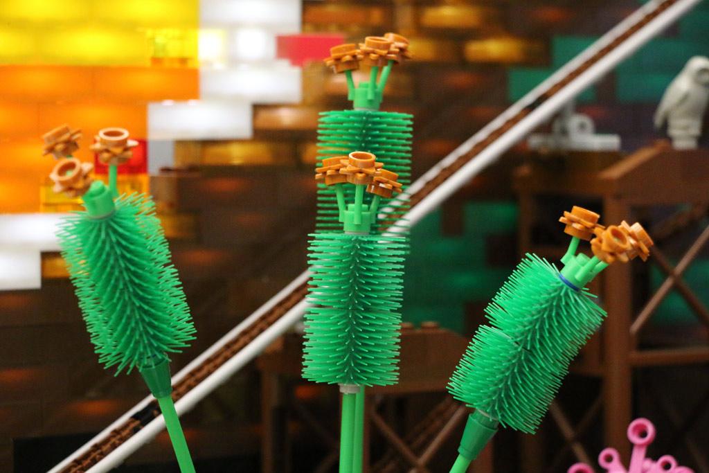 Dank der LEGO Mixels: Deko! | © Andres Lehmann / zusammengebaut.com