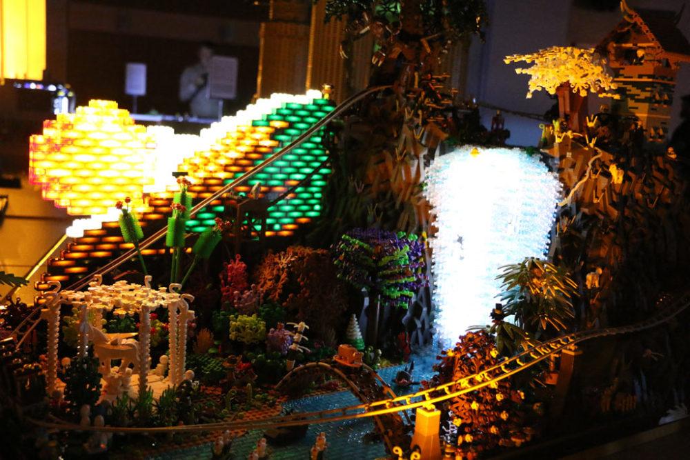 LEGO Phantasia Roller Coaster