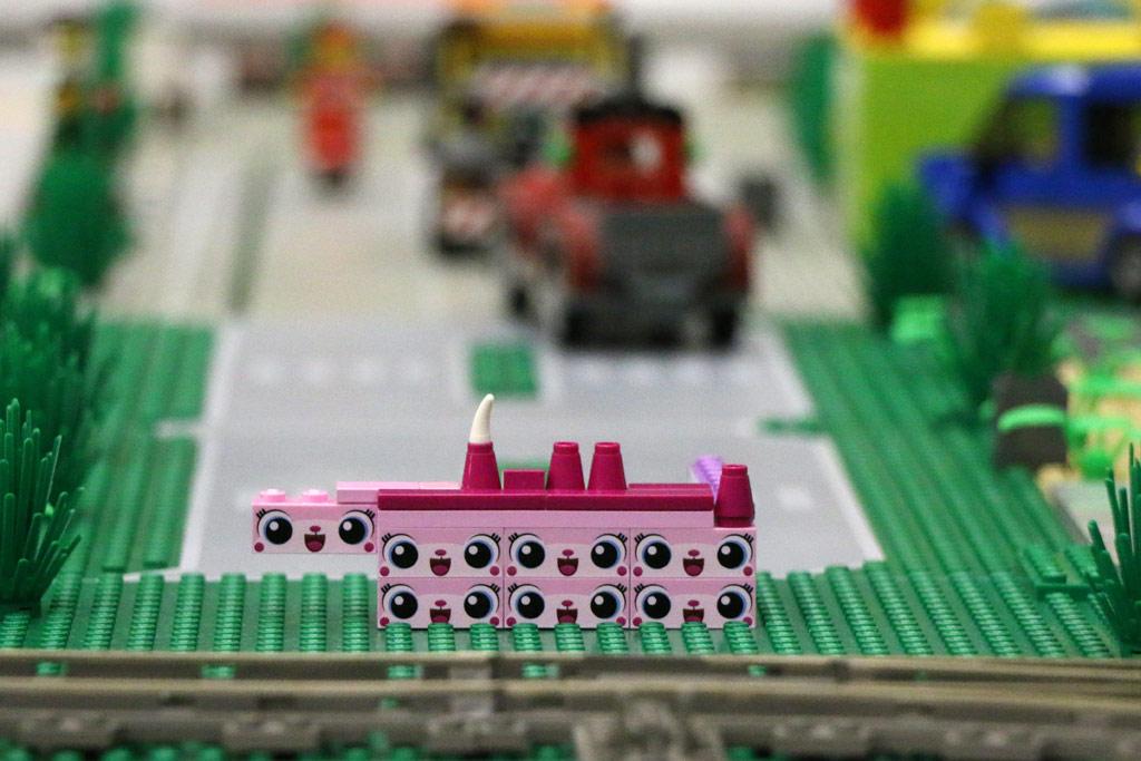 Auch meine kleine Tochter hat sich aktiv am Layout beteiligt. | © Andres Lehmann / zusammengebaut.com