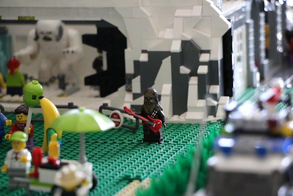 Chewbacca: Auch so ein Rock'n'Roller! | © Andres Lehmann / zusammengebaut.com