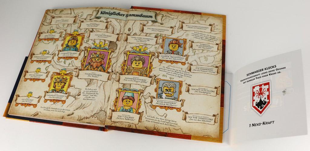 Buch Buch de Monster: Mit Karte und Nexo-Kraft   © Andres Lehmann / zusammengebaut.com
