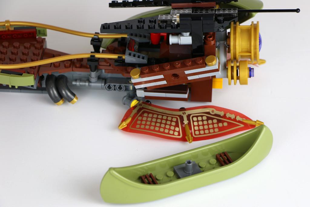 Die Boote lassen sich ganz einfach lösen.   © Andres Lehmann / zusammengebaut.com