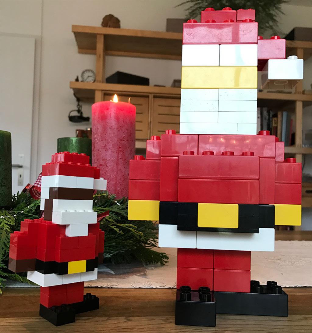 Eigenbau: Doppelter LEGO Santa Claus | © Torsten Grust