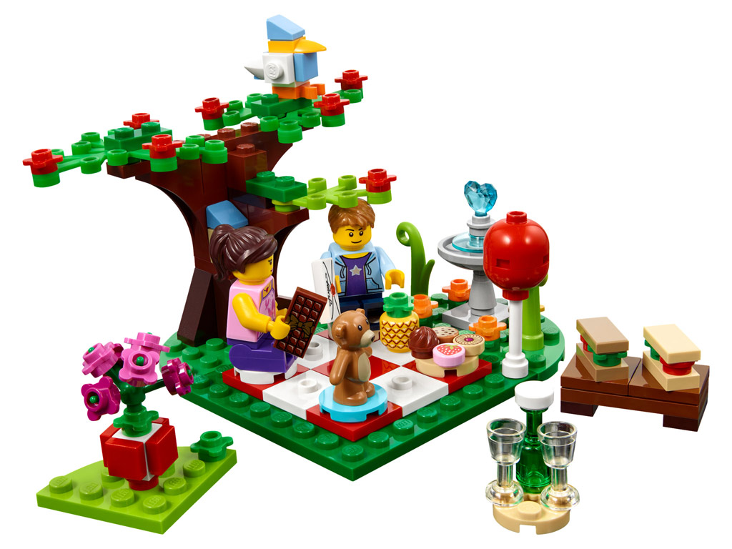 Valentinstag | © LEGO Group