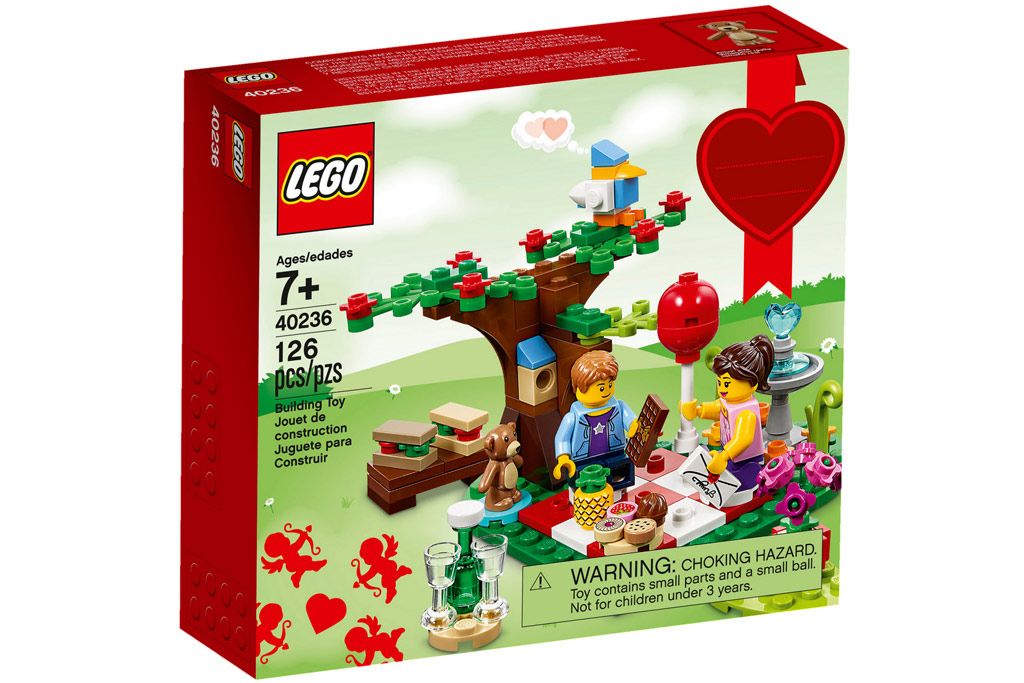 Romantisches Picknick am Valentinstag 40346 | © LEGO Group