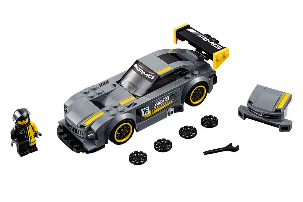 LEGO Speed Champions Mercedes AMG GT3 75877 | © LEGO Group