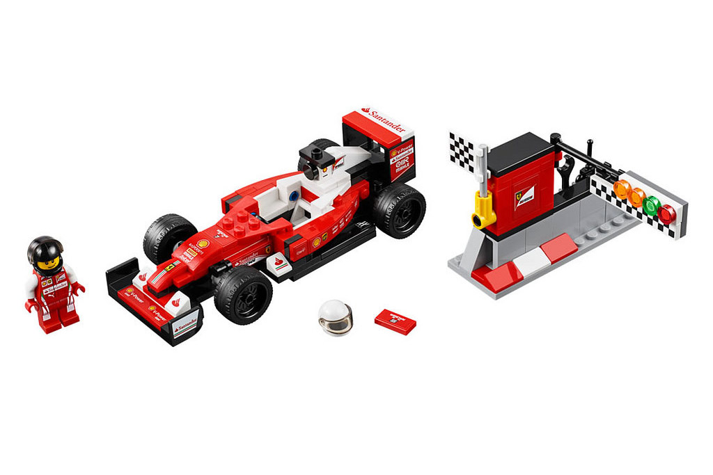 LEGO Speed Champions Scuderia Ferrari SF16-H 75879 | © LEGO Group