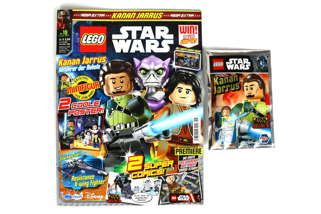 19. Ausgabe des LEGO Star Wars Magazins   © Andres Lehmann / zusammengebaut.com