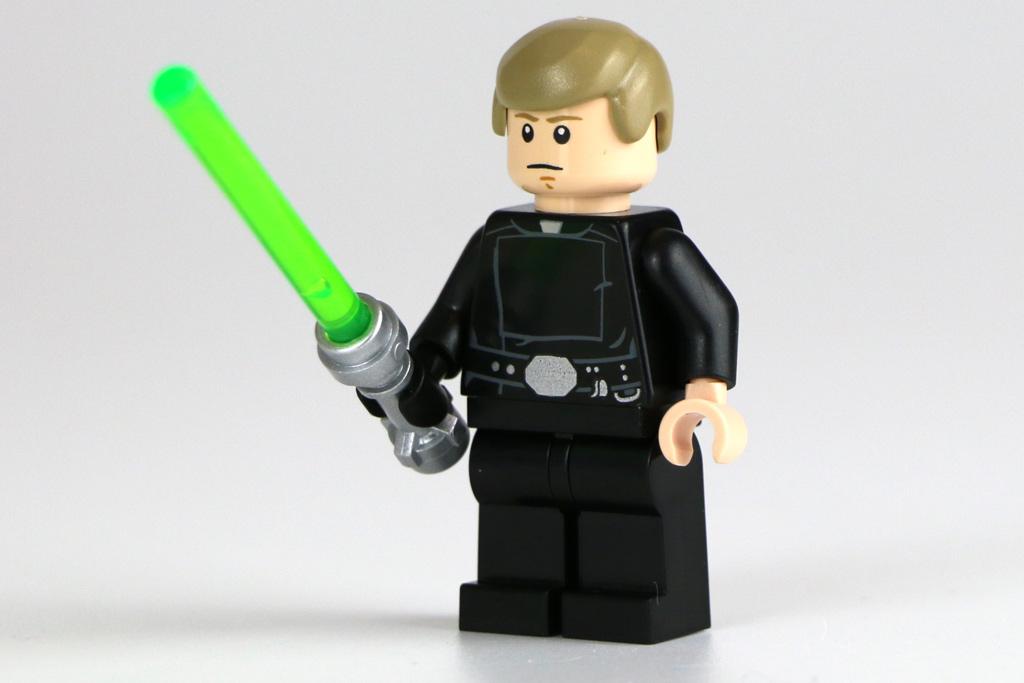 Luke Skywalker und sein Lichtschwert   © Andres Lehmann / zusammengebaut.com