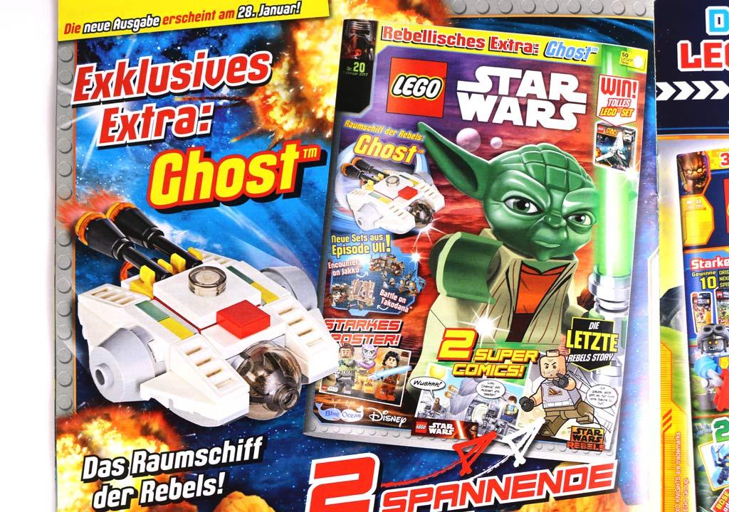 LEGO Star Wars Magazin: Ausblick auf die Februar-Ausgabe | © Andres Lehmann / zusammengebaut.com