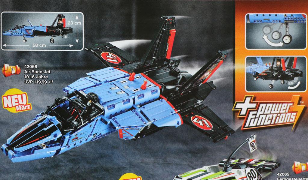 LEGO Technic Air Race Je 42066: Im neuen Katalog gelistet | © Andres Lehmann / zusammengebaut.com