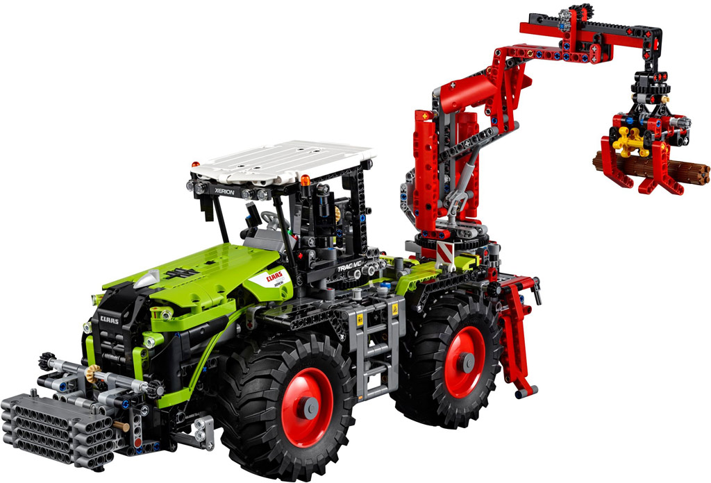LEGO Technic Claas Xerion 5000 Trac VC 42054 | © LEGO Group