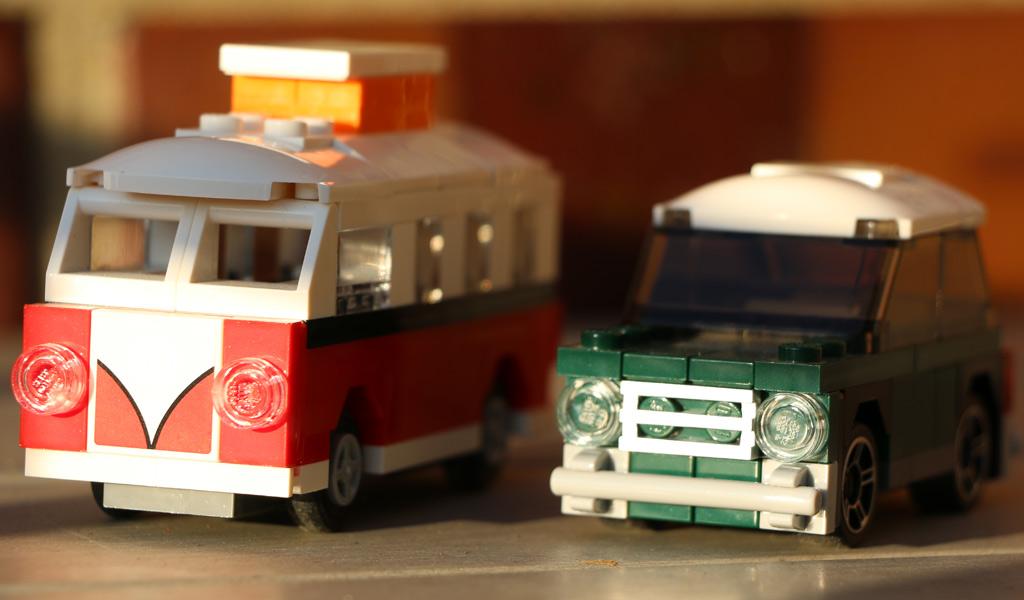 VW Bulli und Mini Mini | © Andres Lehmann / zusammengebaut.com