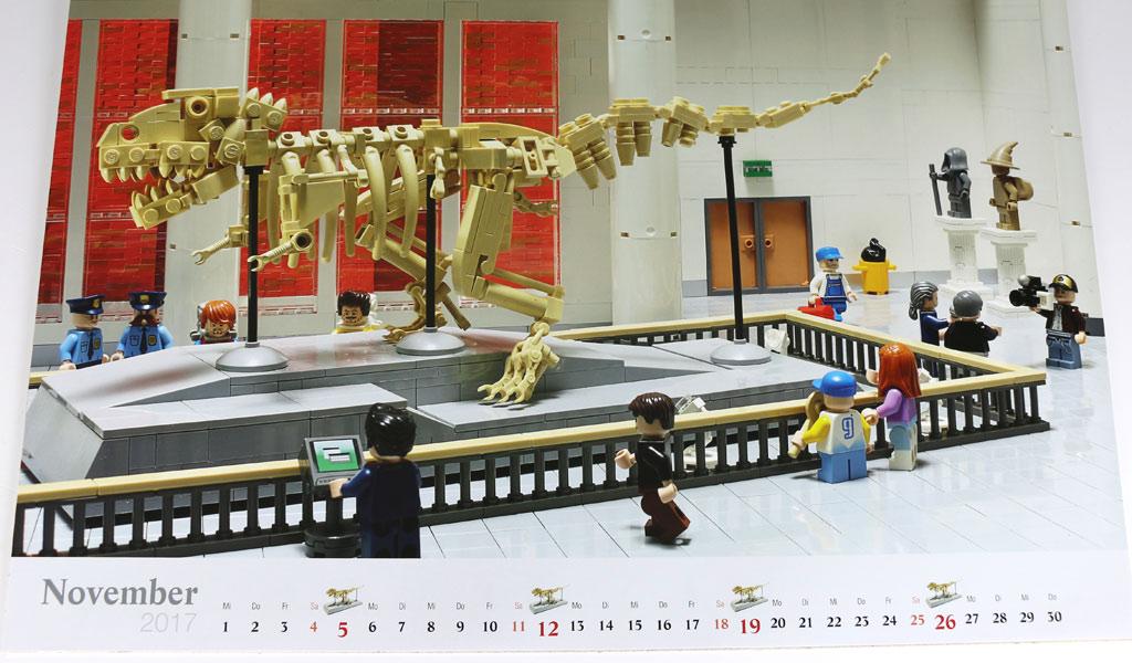 Tyrannosaurus Rex von Joachim Klang | © Andres Lehmann / zusammengebaut.com