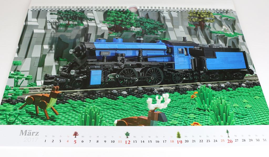 Dampflokomotive S2/5 von Joachim Klang | © Andres Lehmann / zusammengebaut.com