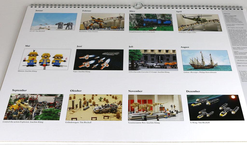 Januar, Februar, März April, die Jahresuhr steht niemals still... | © Andres Lehmann / zusammengebaut.com