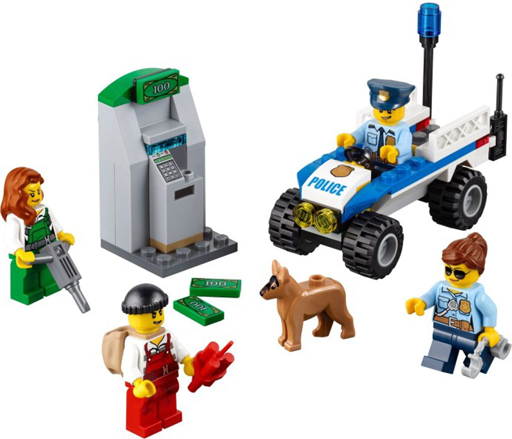 Polizei-Starter-Set (Police Starter Set) 60136  | © LEGO Group