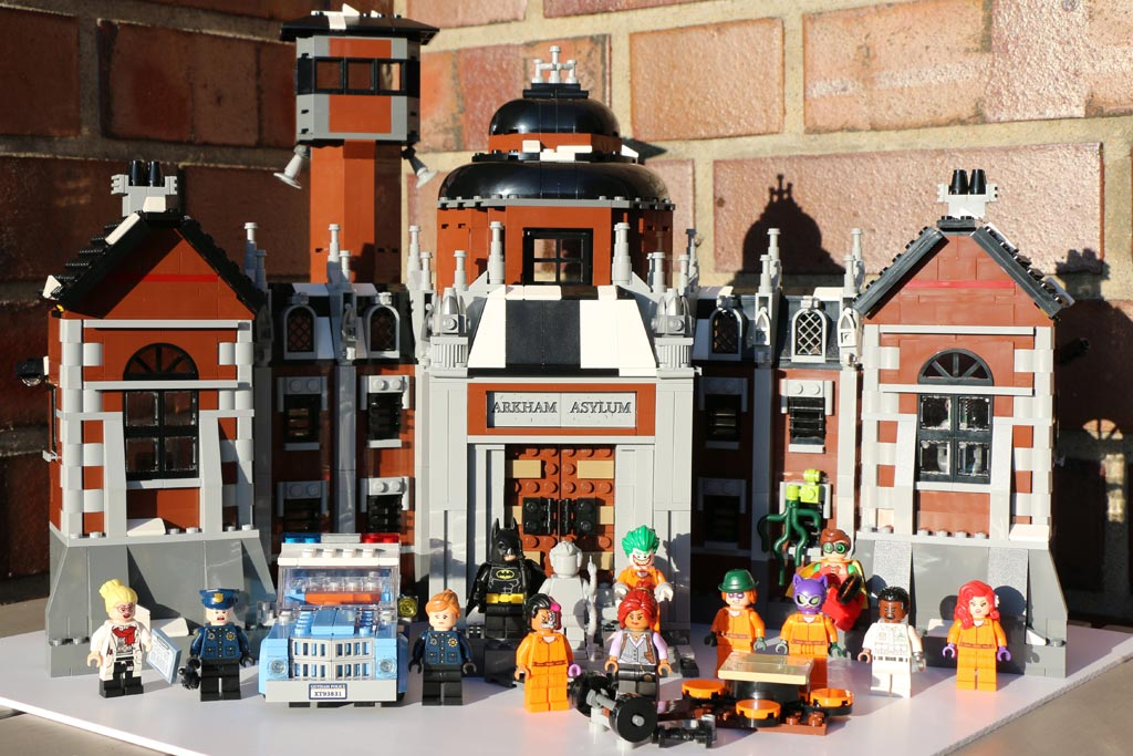 The LEGO Batman Movie: Arkham Asylum 70912 | © Andres Lehmann / zusammengebaut.com