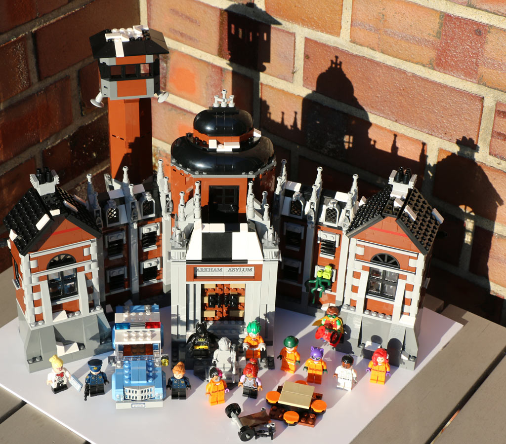 The LEGO Batman Movie: Arkham Asylum 70912 in voller... Pracht | © Andres Lehmann / zusammengebaut.com
